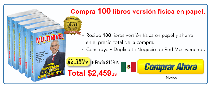 MEXICO 100 libros Multinievel